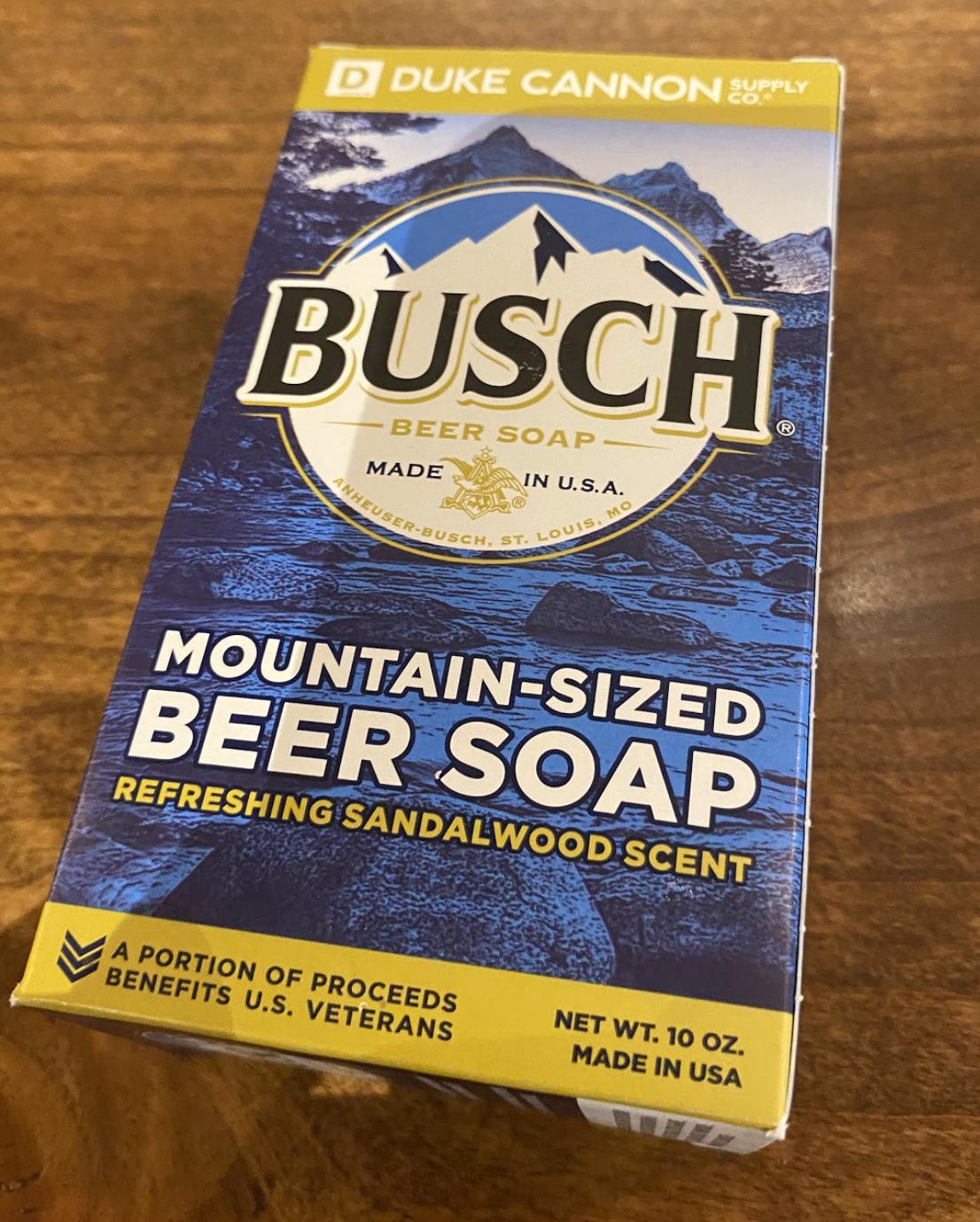 Busch Beer Soap