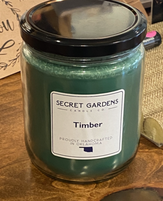 Timber Candle