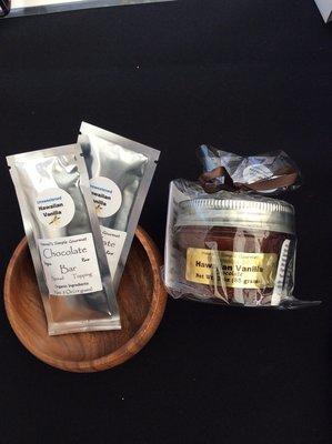 Unsweetened Hawaii's Simple Gourmet Chocolate 3 Ounce Jar