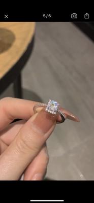 Square Zircon Ring