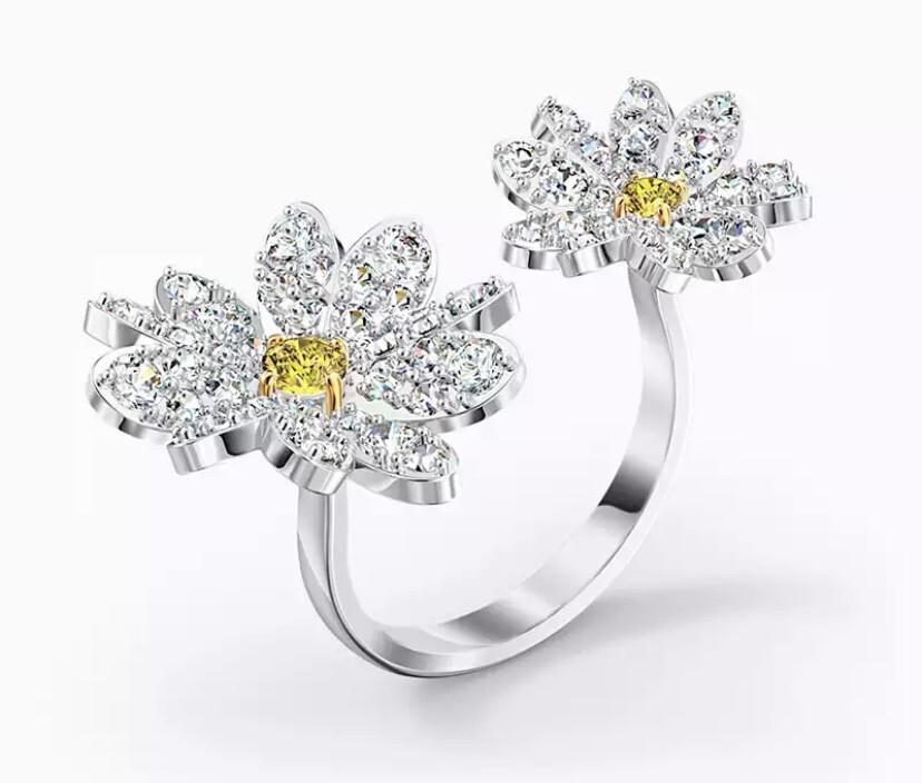 Flower Open Ring