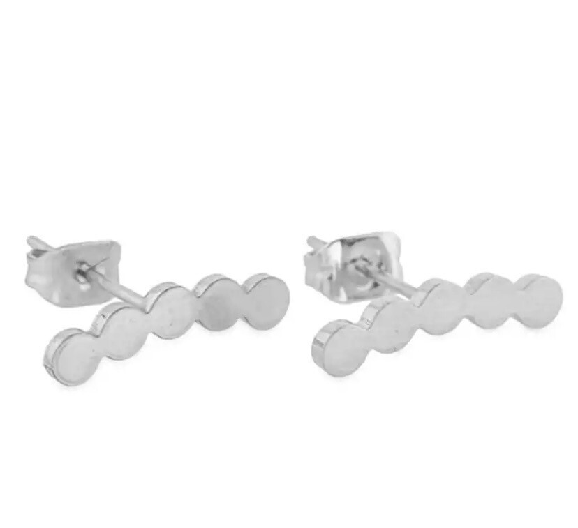 Stud Climber Earrings