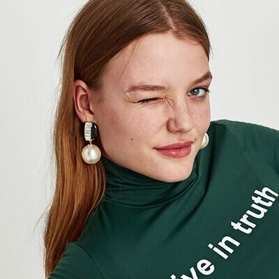 Trinny Inspired Statement Earrings