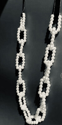 Trinny Inspired Imitation Pearl Necklace
