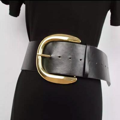 Big Metal Buckle Belt