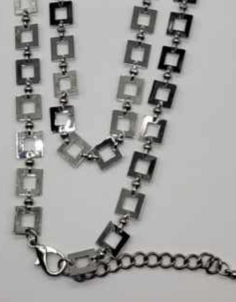 Handmade Square Necklace
