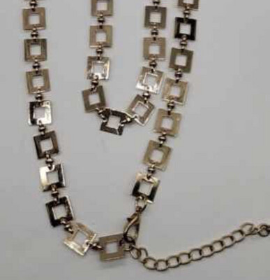 Trinny Inspired Handmade Square Necklace