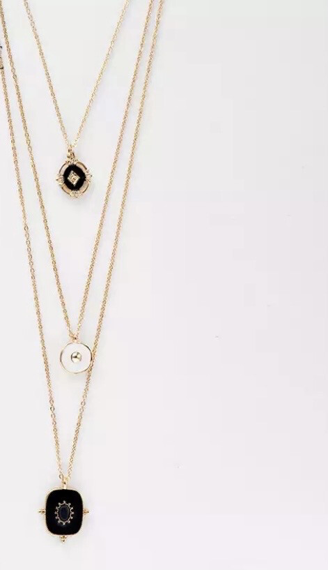 The Stella Multilayered Necklace