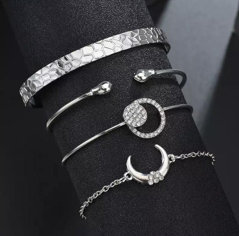 4 Pc Bracelet Set