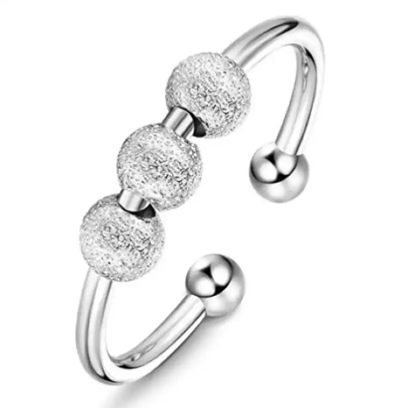Anti Anxiety Adjustable Ring