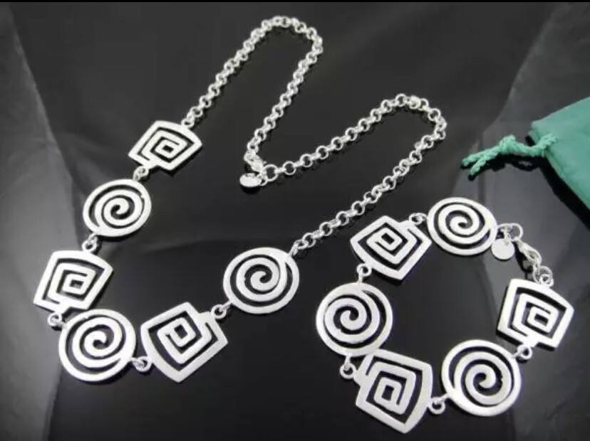 The Spiral 925 Silver Collection