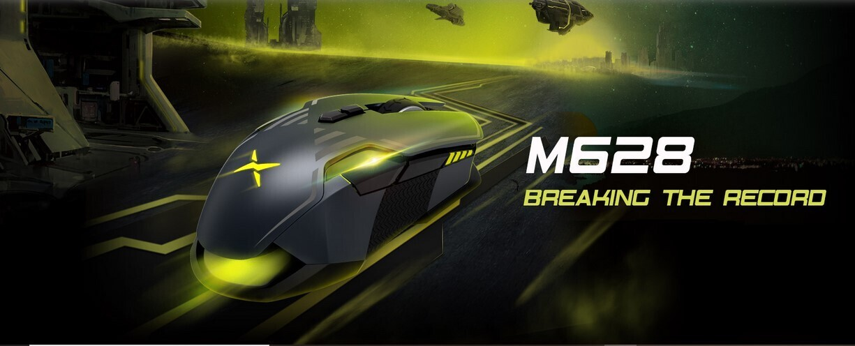 DELUX M628 Gaming Mouse