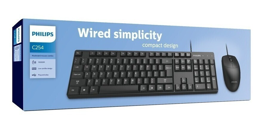 Philips Wired Combo`