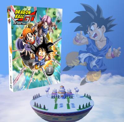Anime Comics - Dragon Ball GT - Tome 1 (Partie 1)