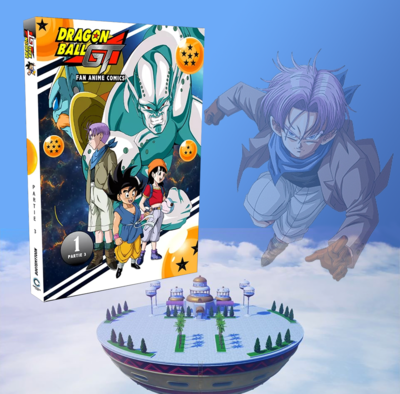 Anime Comics - Dragon Ball GT - Tome 1 (Partie 3)
