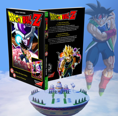 Anime Comics - Bardock contre Freezer et Chilled