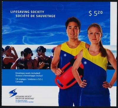 Canada 2282a Booklet MNH Lifesaving Society Centennial