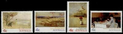 Australia 1146-9 MH - Art, Impressionist Paintings