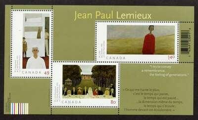 Canada 2068 MNH Art, Jean Paul Lemieux