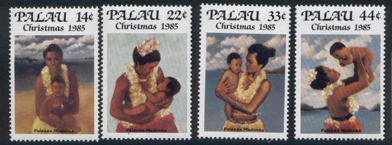 Palau 90-3 MNH Christmas, Island Mothers & Children