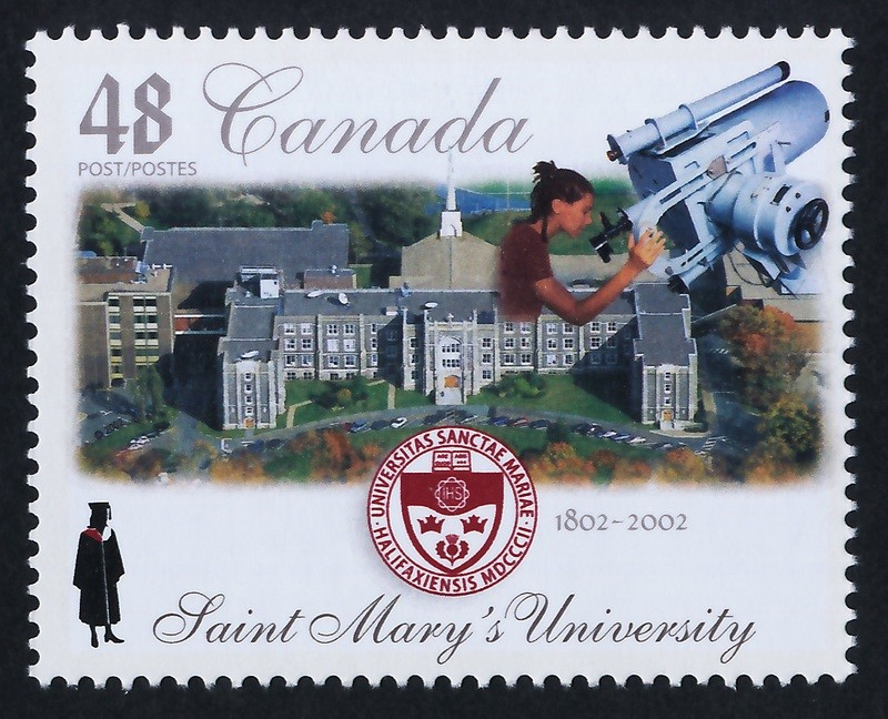 Canada 1944 MNH Saint Mary's University, Crest, Architecture, Education