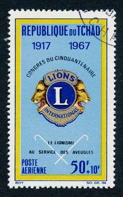 Chad CB4 Used (cto) - Lions International