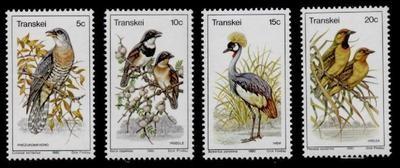 Transkei 79-82 MNH Birds