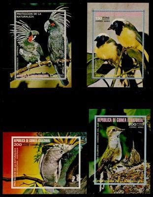 Equatorial Guinea MIBK 147-50 MNH Birds