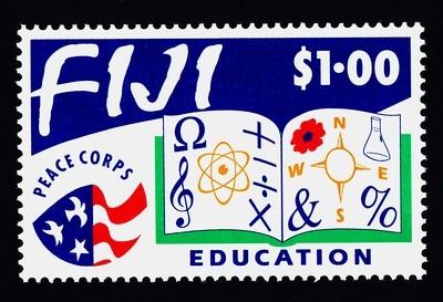 Fiji 682 MNH Education, Peace Corps