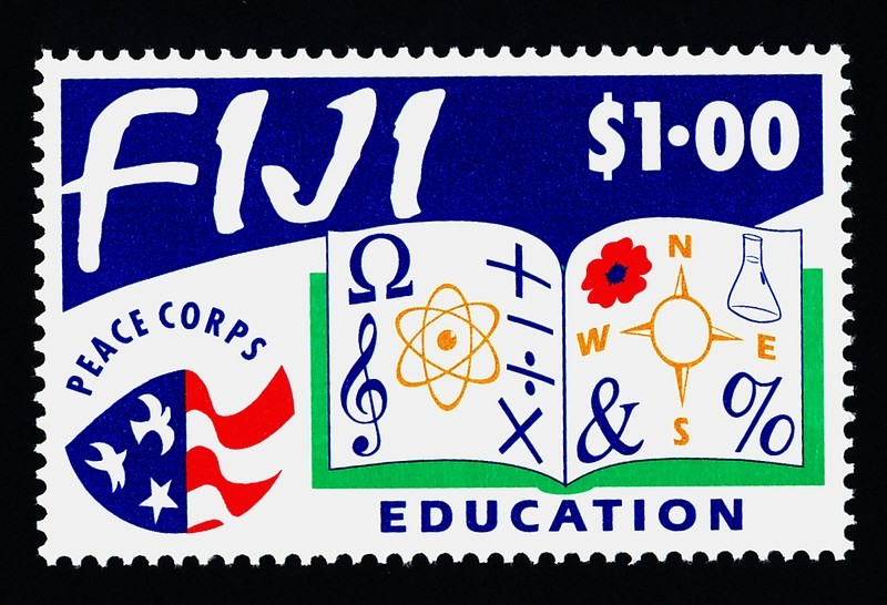 Fiji 682 MNH Education, Peace Corps