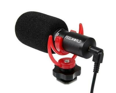 FEELWORLD FM8 Universal Compact Video Microphone