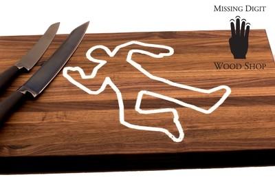Mr. Body Walnut Cutting Board