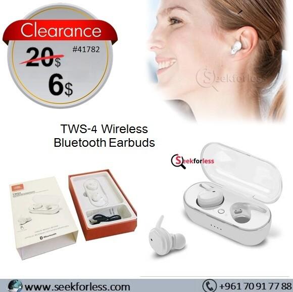 TWS-4 Bluetooth Earbuds