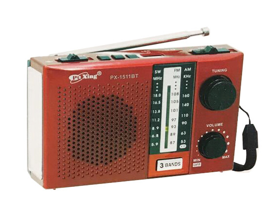 Rechargeable Radio (PX-1511BT)