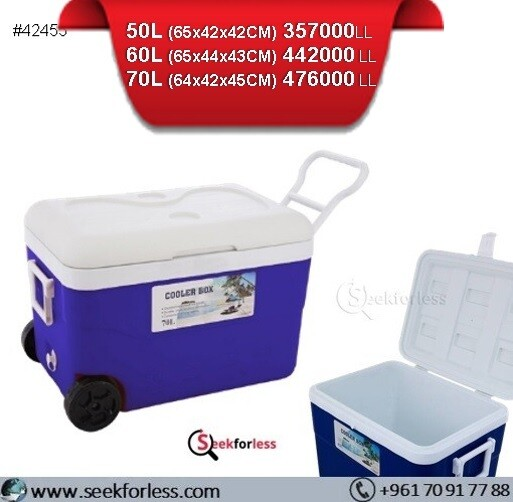 Cooler Box With Wheels