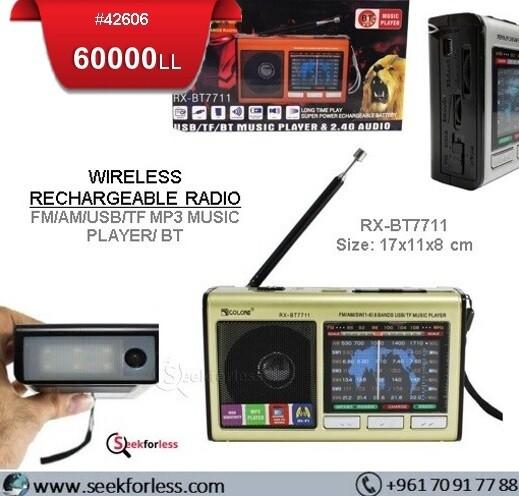 """Golon"" Radio (BT7711)"