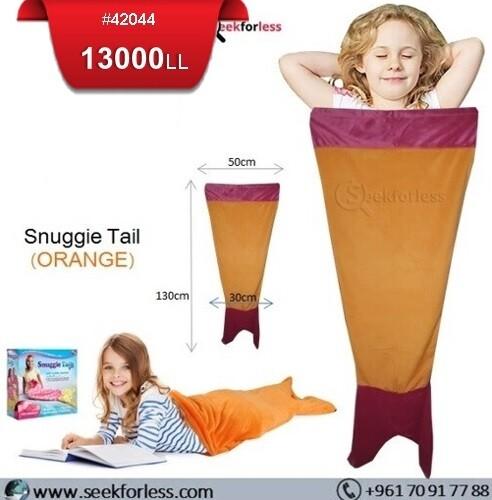 Snuggie Tail - ORANGE