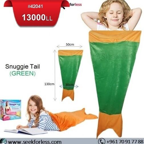 Snuggie Tail - GREEN