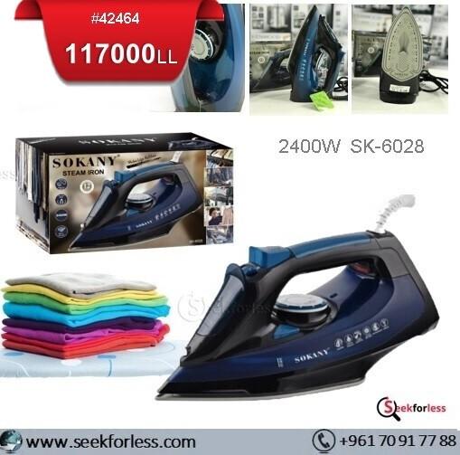 """""""SOKANY"""" Steam Iron (SK-6028)"""