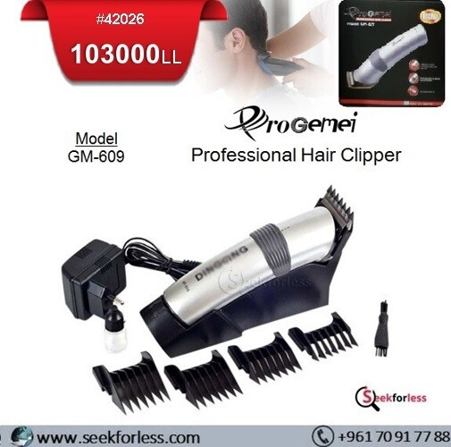 """""""PROGEMEI"""" Hair Clipper GM609"""