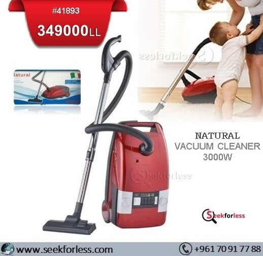 "​""NATURAL"" Vacuum Cleaner"