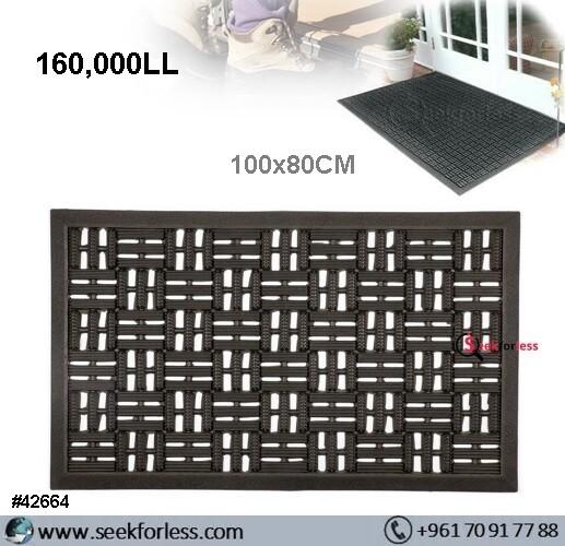 Large Rubber Doormat 80x100cm