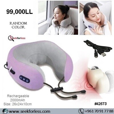 U-Shaped Massage Pillow