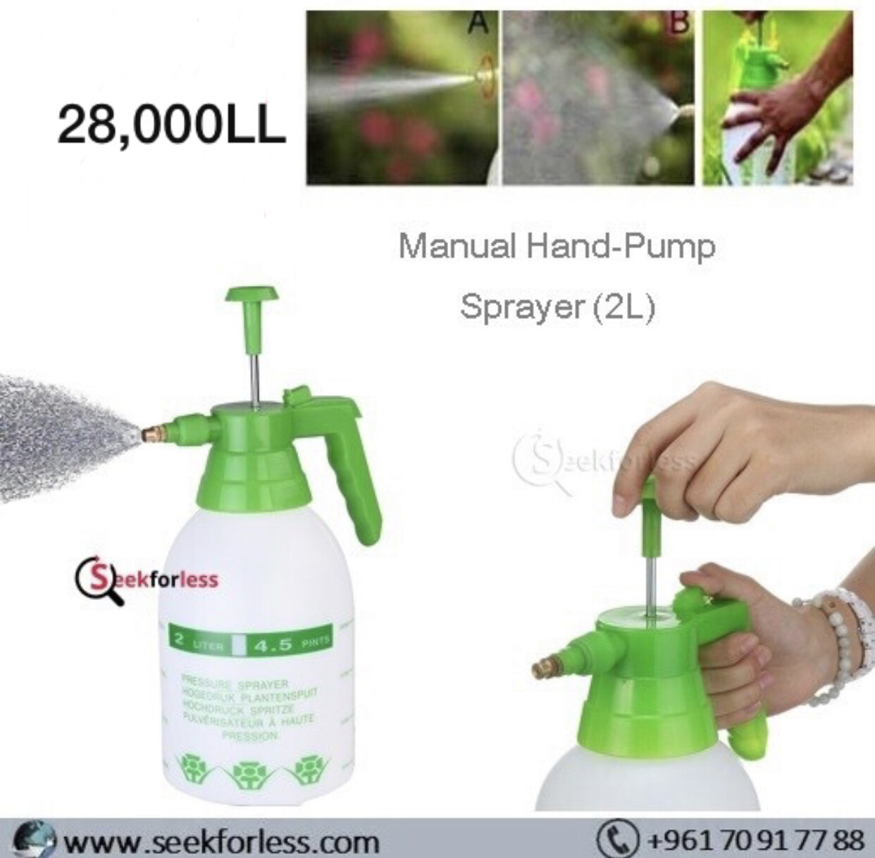Hand-Pump Sprayer