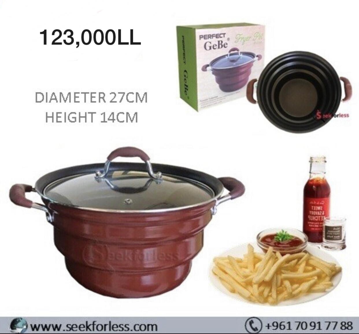 Fryer Pot Ø27cm