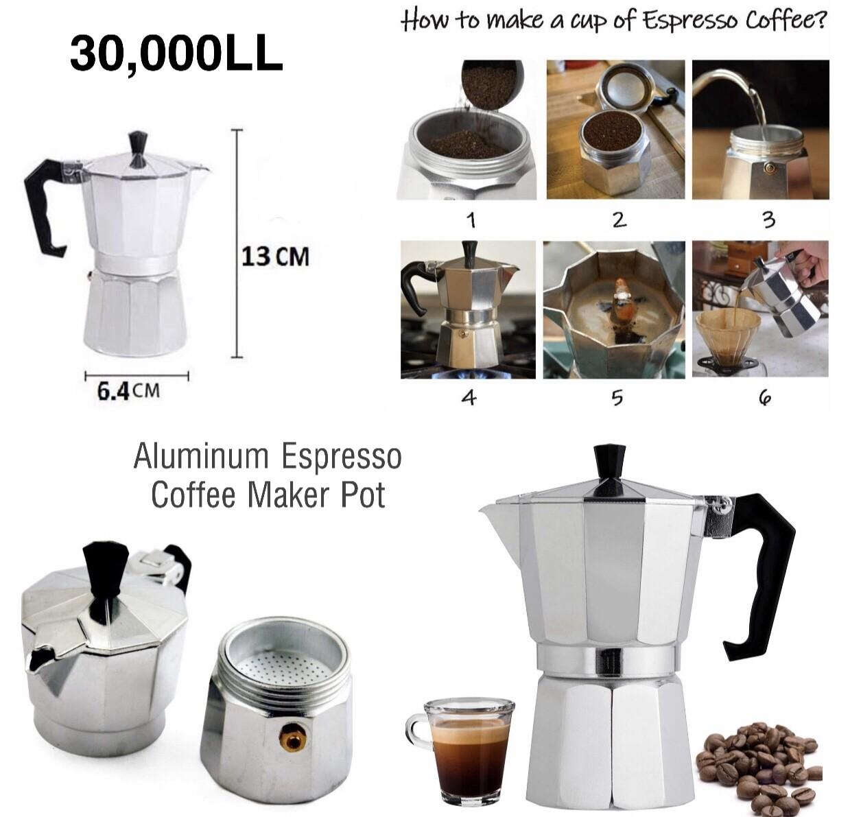 Espresso Coffee Maker Pot