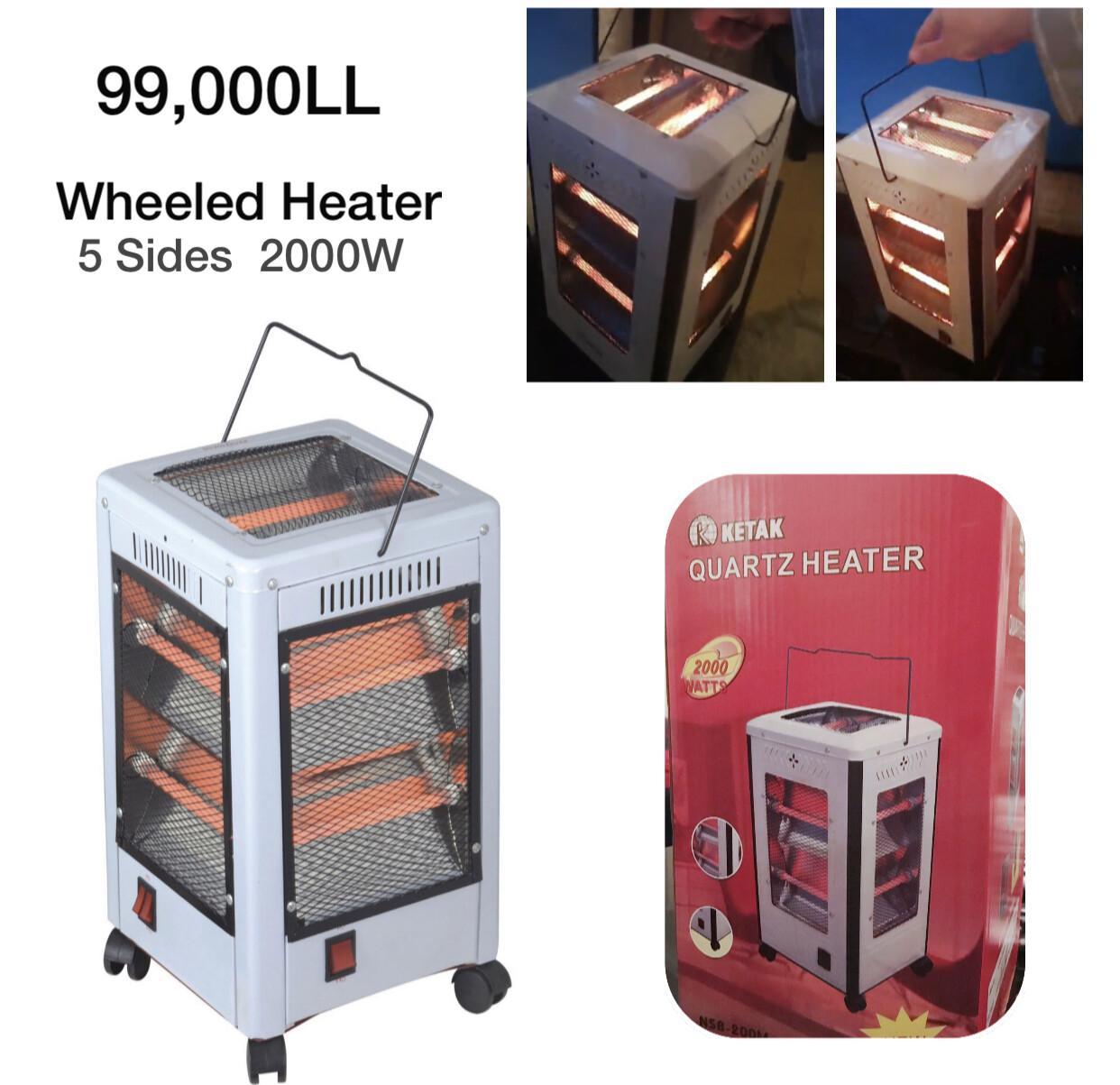Wheeled Heater