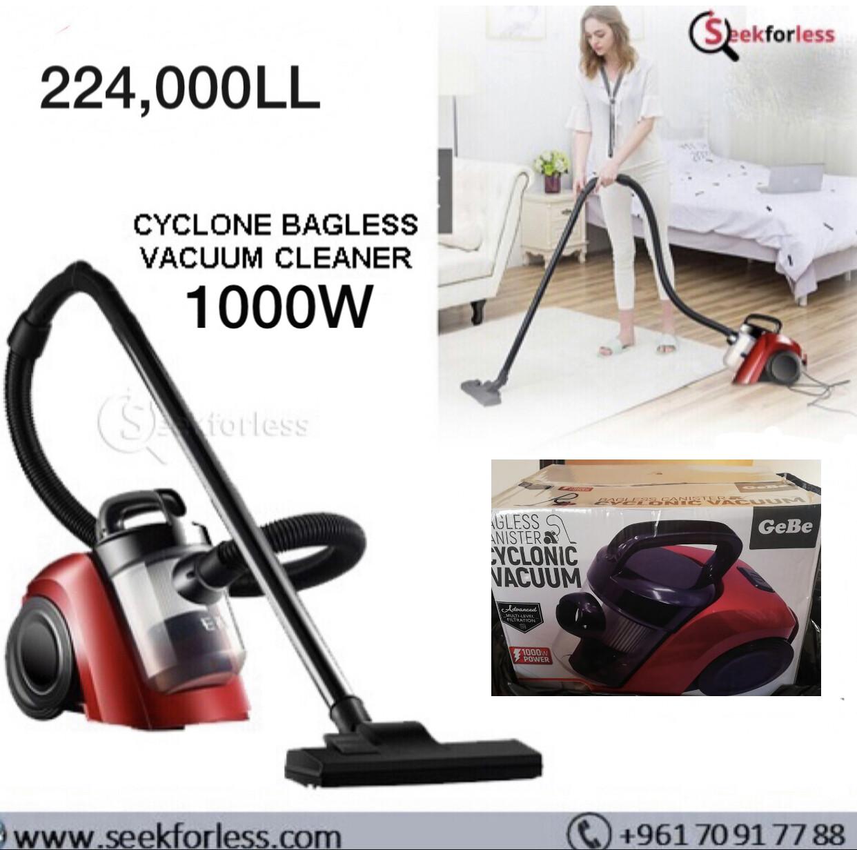 Cyclone Bagless Cleaner