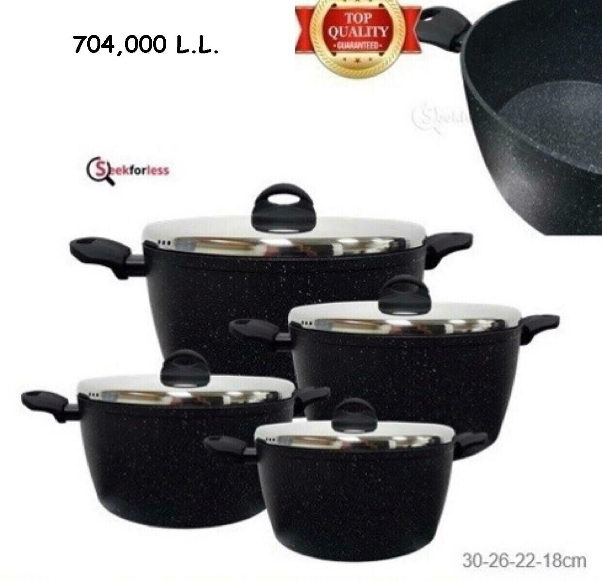 Cookware Set - Black