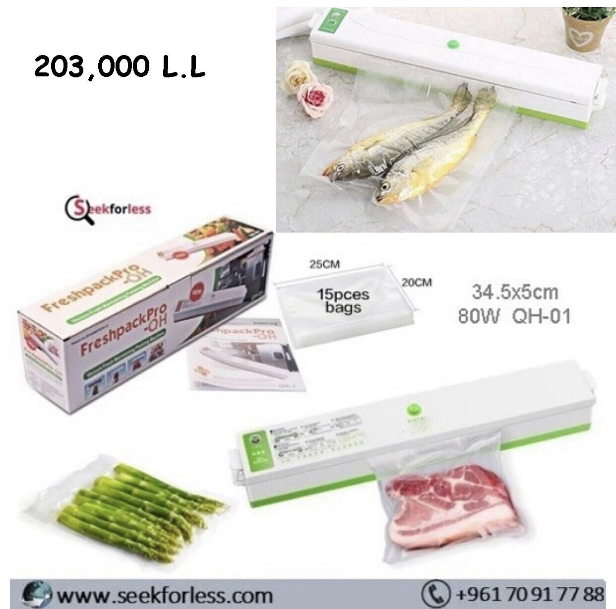 Electric Vacuum Food Sealer